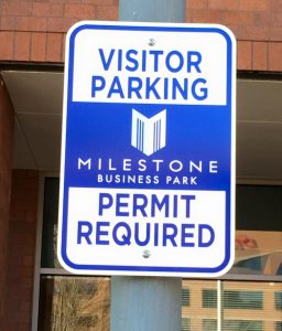 Informational Signs 5c34a78f79253 custom parking outdoor metal traffic sign safety wayfinding 256x300