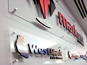 Acrylic Signs lobby dimensional indoor logo 300x225